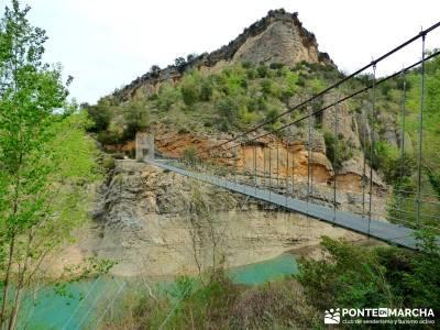 Montfalcó,Mont-rebei-Noguera Ribagorzana-Semana Santa; viajes singles valverde de los arroyos